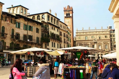 Exclusive shopping in Verona
